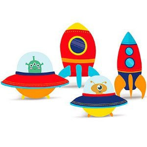 Enfeite de Mesa decorativo Astronauta