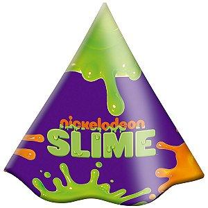 Chapéu de Aniversário - Festa Slime