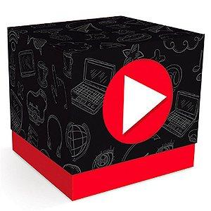 Caixa Cubo Youtuber - Influencer - 08 unidades