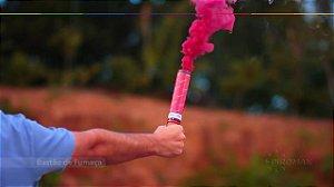 Bastão de Fumaça - Rosa