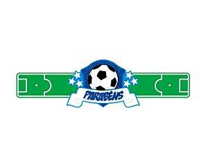 Painel Decorativo EVA - Escudo de Futebol - Parabéns