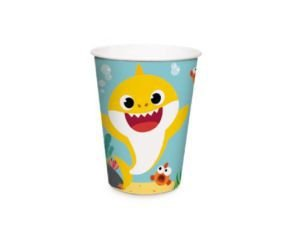 Copo de Papel - Baby Shark 240ml - 16 unidades