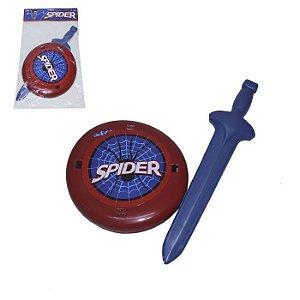 Brinquedo Kit Espada e Escudo - Spider