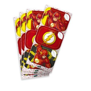 Adesivo Retangular - Flash - 12 unidades