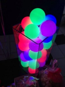 Balão Latex Neon sortido - N° 9 - 50 unidades