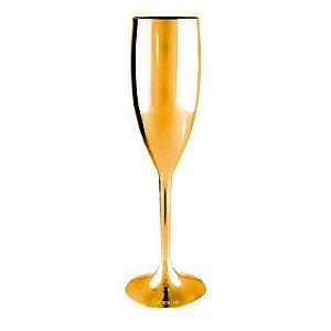 Taça de Champagne - Dourada