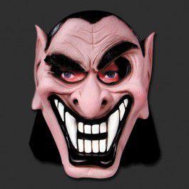Máscara Latéx Halloween - Vampiro Mau