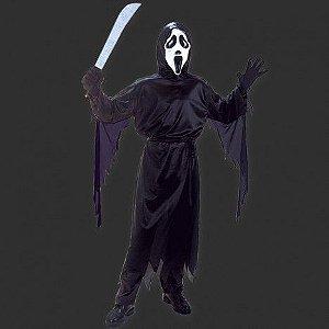 Fantasia Halloween Infantil - Panico G - 10 a 12 anos