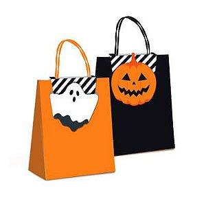 Sacola de Papel - Halloween - 10 und