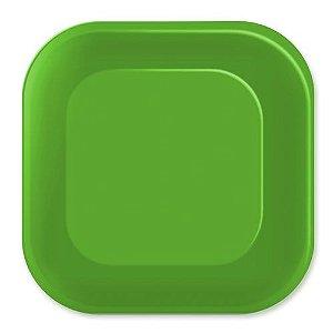 Prato de Papel - Live Colors - Verde Limão - 08 unidades