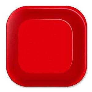 Prato de Papel - Live Colors - Vermelho- 08 unidades