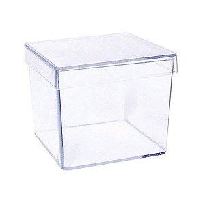 Caixa Acrílica 5x5 - Transparente - 10 und