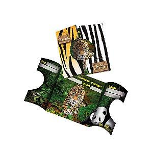 Convite Mundo Animal - 16 unidades
