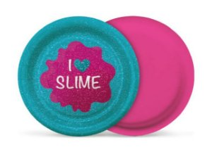 Prato Festa Slime - 8 unidades -  18cm