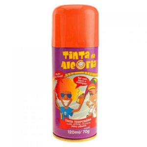 Tinta Spray de Cabelo - Laranja
