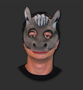 Máscara Látex Carnaval - Burrinho Metade