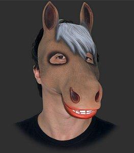 Máscara Carnaval - Cavalo com Elástico