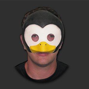 Máscara Carnaval - Pinguim com Elástico