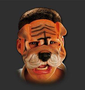 Máscara Carnaval - Buldog com Elástico