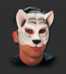 Máscara Carnaval - Gato com Elástico