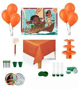 Kit Decoração de Festa Especial - Moana