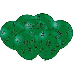 Balão Festa Cebolinha - 25 unidades - Festcolor