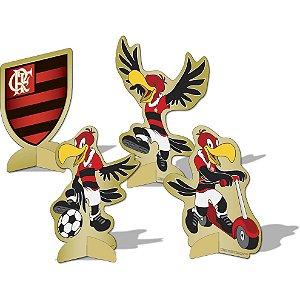 Decoração de Mesa Festa Flamengo - 08 unidade