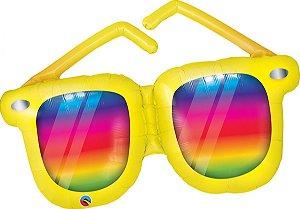 Balão Metalizado Óculos de Sol - 107 cm - Giga