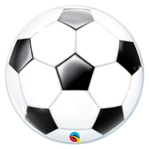 Balão Metalizado Futebol - 91 cm