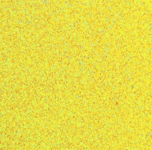 Placa Eva Glitter - Amarelo