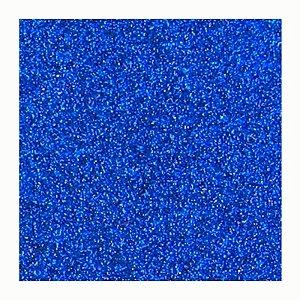 Placa Eva Glitter - Azul