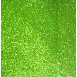 Placa Eva Glitter - Verde