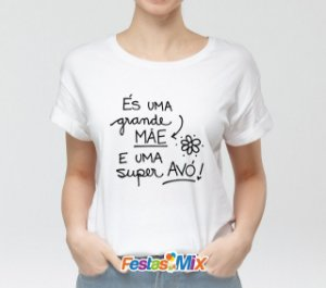 Camisa Personalizada - Super Avó