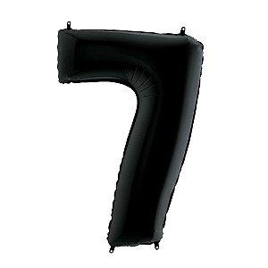 Balão Metalizado 70cm - Nº 7