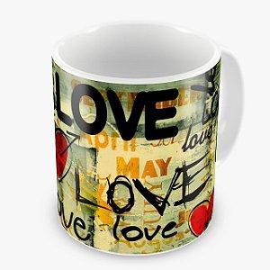 Caneca Ceramica - LOVE