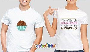Kit Camisa Dia dos Namorados - Fui Atrás da Felicidade