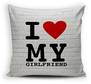 Almofada  30 x 30 -  I My Girlsfriend