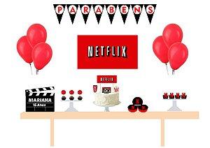 Kit Festa Espetacular Personalizado - Netflix