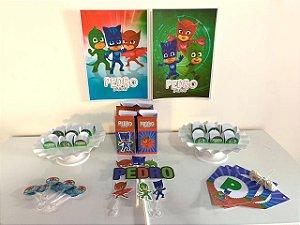 Kit Festa Personalizaida Pj Masks