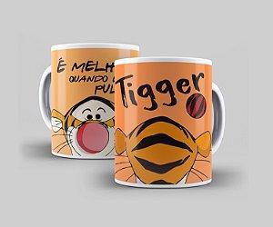Caneca Cerâmica Coleção Disney  - Tigger