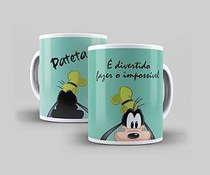 Caneca Cerâmica Coleção Disney  - Pateta