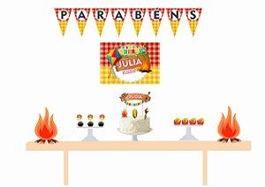 Kit Festa Espetacular Personalizado - Festas Junina