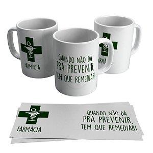 Caneca Cerâmica Profissão - Farmácia