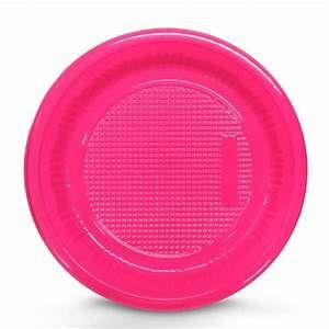Prato Descartável - Pink - 15cm