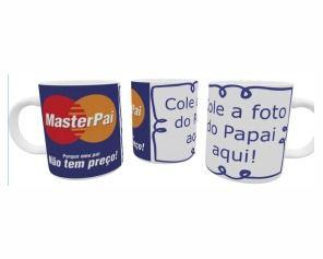 Caneca Cerâmica - Feliz Dia dos Pais - MasterPai