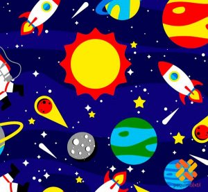 Tnt Estampado - Astronauta- 1 metro