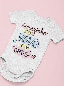 Body Personalizado para Bebê - Amorzinho do Vovô e da Voó