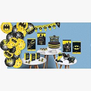 Kit Festa Só um Bolinho - Batman - 242 peças