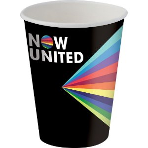 Copo de Papel 180ml - Now United - 08 unidades