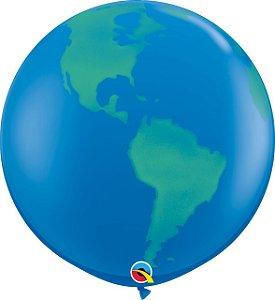 Balão Latex Redondo 3 Pés -Planeta - Gigante